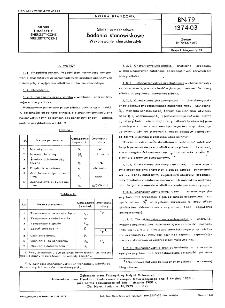 Silniki samochodowe - Badania stanowiskowe - Wykonywanie charakterystyk BN-79/1374-03