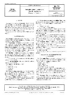 Motocykle, skutery i motorowery - Tłumik wydechu - Wymagania i badania BN-79/3612-17