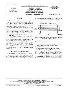 Badania i ocena odporności na palność materiałów niemetalowych przeznaczonych do produkcji pojazdów mechanicznych BN-80/3601-02