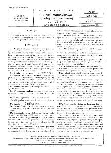 Silniki motocyklowe o objętości skokowej do 125 cm³ - Wymagania i badania BN-81/1354-08