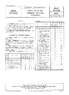 Badania samochodów - Badania kontrolne okresowe BN-81/3615-08