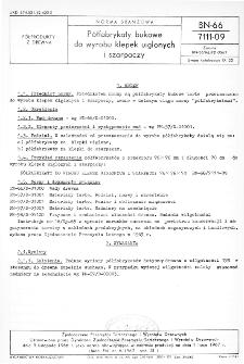 Półfabrykaty bukowe do wyrobu klepek uiglonych i szarpaczy BN-66/7111-09
