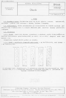 Okorki BN-66/7111-10