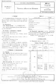 Tarcica szkutnicza liściasta BN-67/7111-13