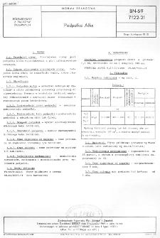 Podpałka Alfix BN-69/7122-21