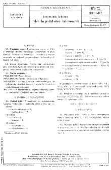 Nawierzchnia kolejowa - Dyble do podkładów betonowych BN-72/9313-02