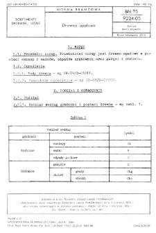 Drewno opałowe BN-75/9224-05