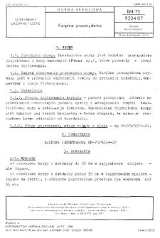 Karpina przemysłowa BN-75/9224-07