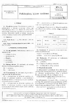 Półfabrykaty iglaste meblowe BN-76/7111-03