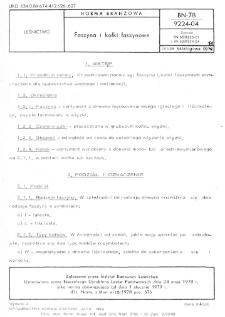 Faszyna i kołki faszynowe BN-78/9224-04