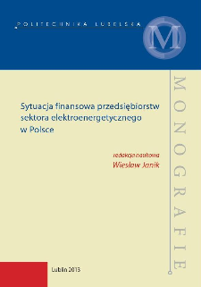Sytuacja finansowa przedsiębiorstw sektora elektroenergetycznego w Polsce