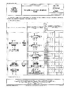 Skrzynie zaworowe okrętowe - Podział BN-70/3732-14