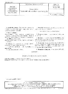 Linia wałów - Nakrętki do wałów śrubowych BN-71/3721-08