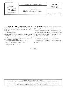 Linia wałów - Płytki zabezpieczające BN-71/3721-09