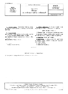 Linia wałów - Klucze do nakrętek wałów śrubowych BN-71/3721-10