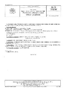 Linia wałów - Łożyska rufowe gwajakowe smarowane wodą - Pierścienie zabezpieczające wkładki gwajakowe BN-71/3721-18