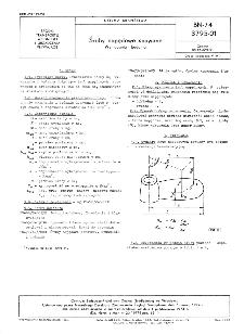 Śruby napędowe spawane - Wymagania i badania BN-74/3795-01