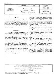 Badania pojazdów samochodowych i przyczep - Pomiary wymiarów BN-77/3615-15