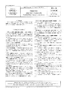 Remonty statków morskich - Podstawowe nazwy i określenia BN-79/3700-06