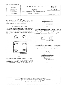 Osprzęt do mocowania kontenerów - Nazwy i określenia BN-80/3750-09