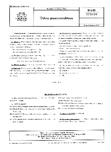 Osłony przeciwmoskitowe BN-81/3712-24
