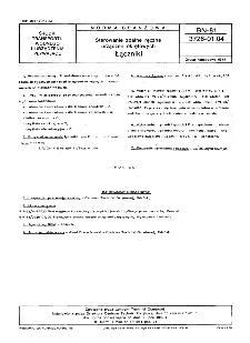 Sterowanie zdalne ręczne urządzeń okrętowych - Łączniki BN-81/3726-01.04