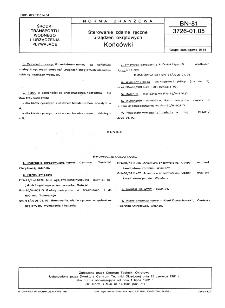 Sterowanie zdalne ręczne urządzeń okrętowych - Końcówki BN-81/3726-01.05