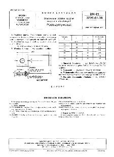 Sterowanie zdalne ręczne urządzeń okrętowych - Podtrzymywacze BN-81/3726-01.08