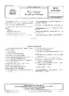 Sterowanie zdalne ręczne urządzeń okrętowych - Skrzynki przekładniowe BN-81/3726-01.09