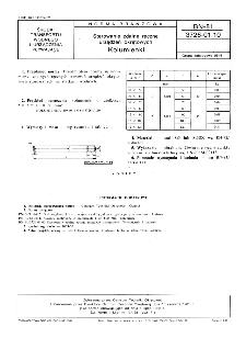 Sterowanie zdalne ręczne urządzeń okrętowych - Kolumienki BN-81/3726-01.10