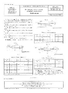 Sterowanie zdalne ręczne urządzeń okrętowych - Kołnierze BN-81/3726-01.12