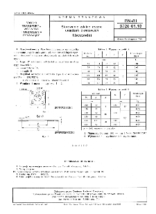 Sterowanie zdalne ręczne urządzeń okrętowych - Uszczelki BN-81/3726-01.13