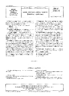 Łodzie ratunkowe statków morskich - Drabinki łodziowe BN-81/3765-49