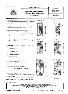 Wyposażenia statków śródlądowych - Opaski lin włókiennych i stalowych BN-81/3780-09