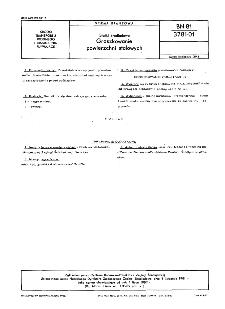 Statki śródlądowe - Groszkowanie powierzchni stalowych BN-81/3781-01