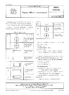 Typowe tabliczki rozpoznawcze BN-82/3709-06