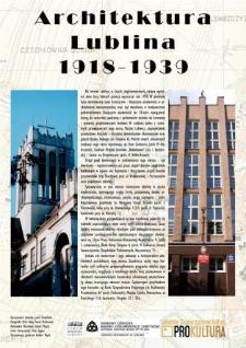 Architektura Lublina 1918-1939 : katalog wystawy