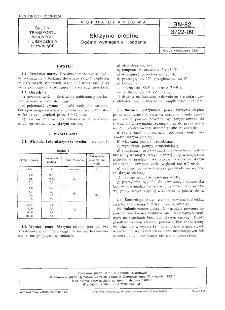 Skrzynie cieplne - Ogólne wymagania i badania BN-82/3722-09