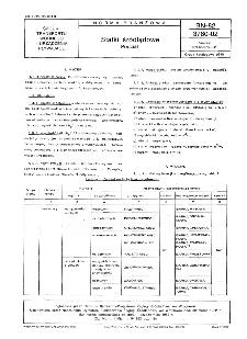 Statki śródlądowe - Podział BN-82/3780-02