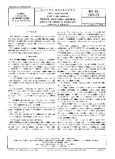 Silniki samochodowe - Badania stanowiskowe - Badania odporności uszczelek głowic na działanie zmiennych uderzeń cieplnych BN-83/1374-11