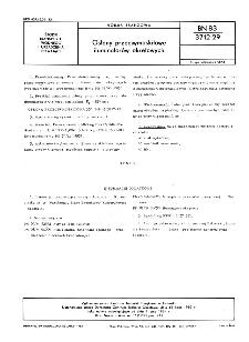 Osłony przeciwmoskitowe iluminatorów okrętowych BN-83/3712-29