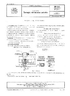 Linia wałów - Sprzęgła kołnierzowe jednolite BN-84/3721-11