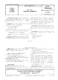 Linia wałów - Dławnice grodziowe BN-84/3795-03/01