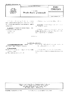 Linia wałów - Dławiki dławnic grodziowych BN-84/3795-03/03