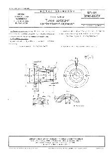 Linia wałów - Tuleje sprzęgieł kołnierzowo-tulejowych BN-84/3795-04/02