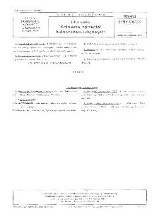 Linia wałów - Kołnierze sprzęgieł kołnierzowo-tulejowych BN-84/3795-04/03