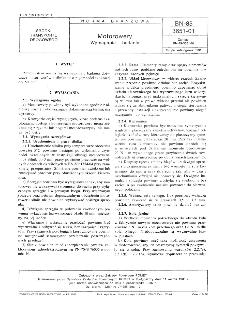 Motorowery - Wymagania i badania BN-85/3651-01