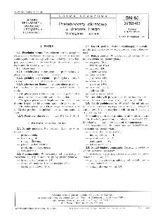 Prefabrykaty okrętowe z drewna litego - Wymagania i badania BN-85/3763-03