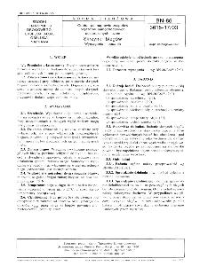 Odbiór po naprawie zespołów pojazdów samochodowych dostarczanych luzem - Skrzynki biegów - Wymagania i badania BN-86/3615-17/03