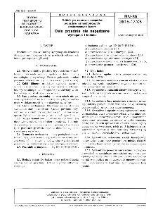 Odbiór po naprawie zespołów pojazdów samochodowych dostarczanych luzem - Osie przednie nie napędzane - Wymagania i badania BN-86/3615-17/05